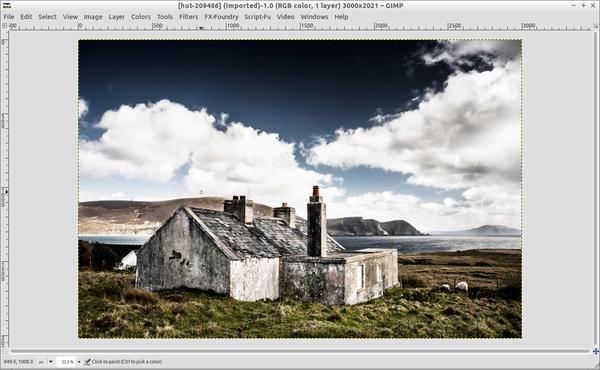 gimp-foto-paisaje