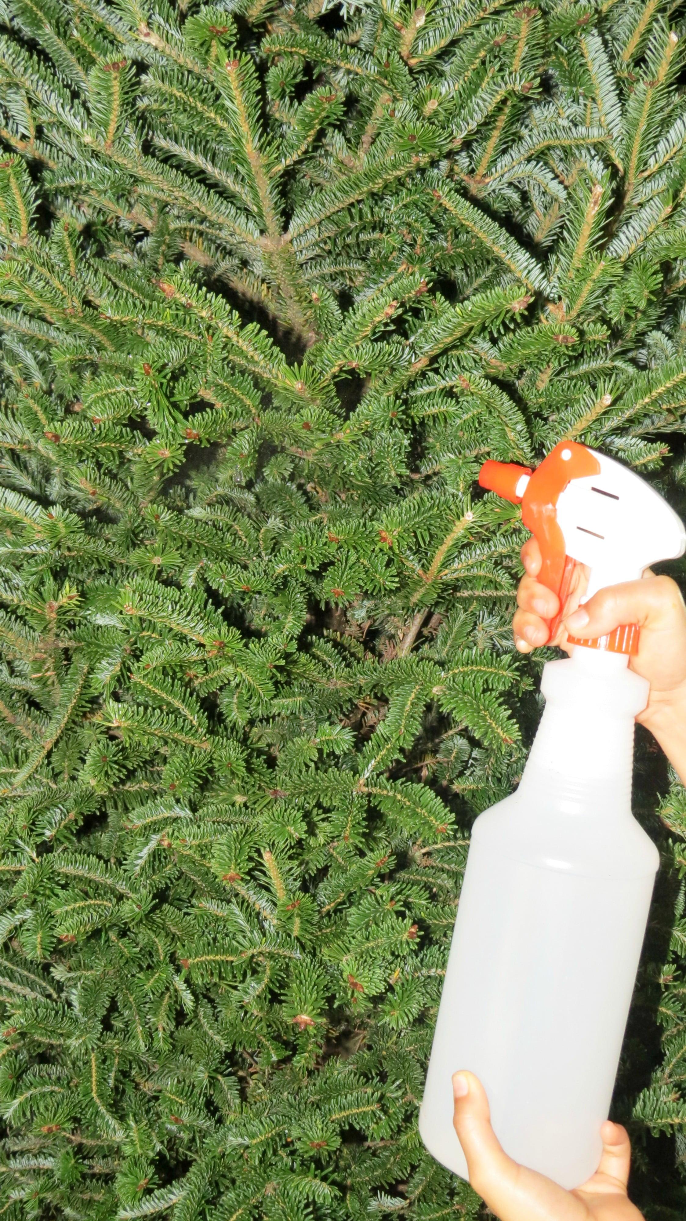 Arbol navide o natural con nieve artificial h galo usted - Arbol artificial de navidad ...